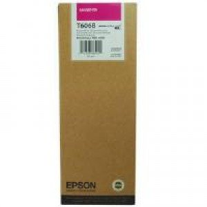 Epson T606B High Yield Magenta Ink Cartridge (220ml) C13T606B00