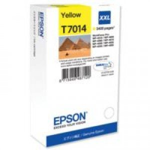 Epson T7014 Extra High Yield Yellow Ink Cartridge (3,400 pages*)