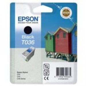 Epson T036 Black Ink Cartridge (10ml)