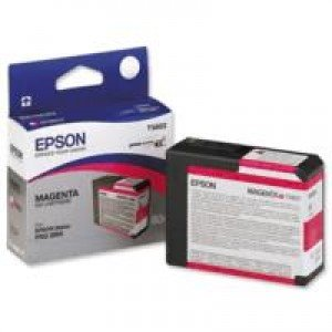 Epson T5803 Magenta Ink Cartridge (80ml)