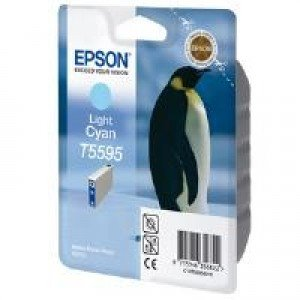 Epson T5595 Light Cyan Ink Cartridge (13ml)
