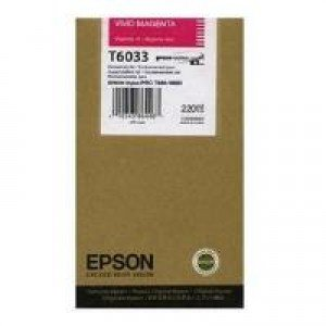 Epson T6033 Vivid Magenta Ink Cartridge (220ml) C13T603300