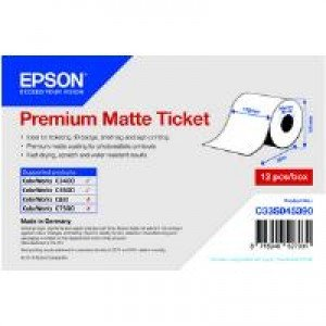 Epson Premium Matte Ticket - 102mm x 50m
