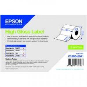 Epson C33S045541 High Gloss Label - 102mm x 152mm (210 labels)
