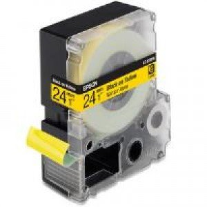 Epson LC-6YBP9 - 24mm x 9m - Black on Yellow Tape C53S627401