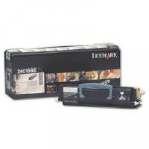 Lexmark 24016SE Black Return Program Toner Cartridge (2,500 pages*) 0024016SE
