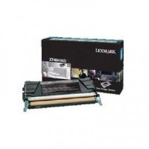 Lexmark X746H1KG High Yield Black Return Program Toner Cartridge (12,000 pages*)