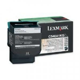 Lexmark C540A1KG Black Return Program Toner Cartridge (1,000 pages*) 0C540A1KG