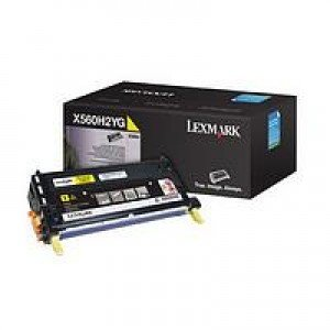 Lexmark High Yield Yellow Print Cartridge (10,000 pages*)