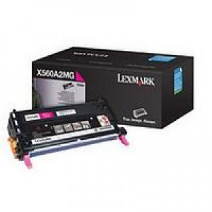 Lexmark Magenta Print Cartridge (4,000 pages*)