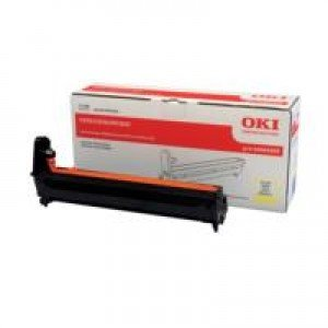Oki 44064009 Yellow Image Drum (20,000 pages*)