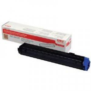 Oki Black Toner Cartridge (3,500 pages*)