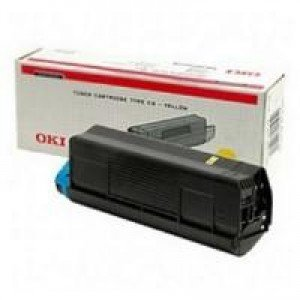 Oki 42804513 Yellow Toner (3,000 pages @ 5%)