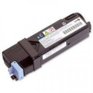 Dell 593-10313 High Yield Cyan Toner Cartridge (2,500 pages*)