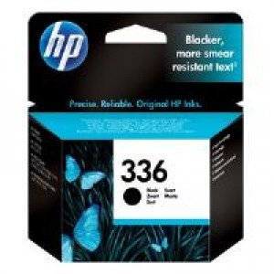 HP C9362EE No.336 Black Ink Cartridge (5ml - 210 pages*)