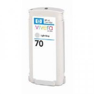 HP C9451A No.70 Light Grey Ink Cartridge (130ml)