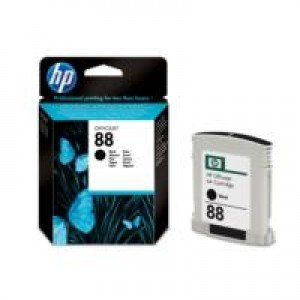 HP No.88 Black Ink Cartridge with Vivera Ink (820 pages*)