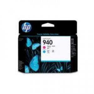HP No.940 Magenta & Cyan Printheads