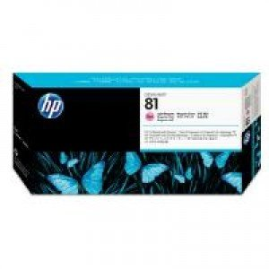 HP C4955A No.81 Light Magenta Printhead and Printhead Cleaner