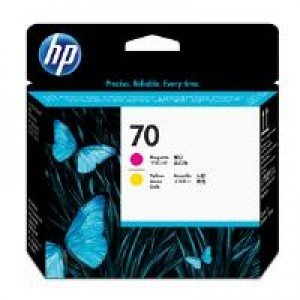 HP C9406A No.70 Magenta and Yellow Printhead