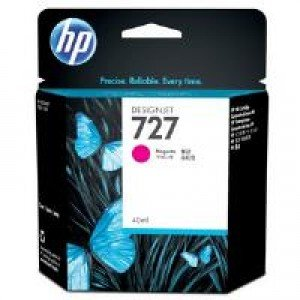 HP B3P14A No.727 Magenta Ink Cartridge (40ml)