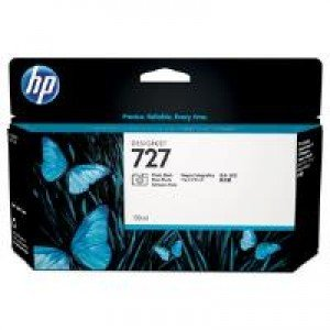 HP No.727 Photo Black Ink Cartridge (130ml)