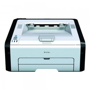 Ricoh SP-213W A4 Mono Laser Printer front view
