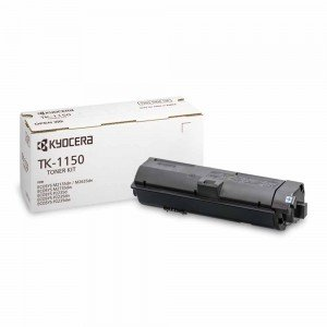 Kyocera 1T02RV0NL0 TK-1150 Black Toner Cartridge (3,000 Pages)