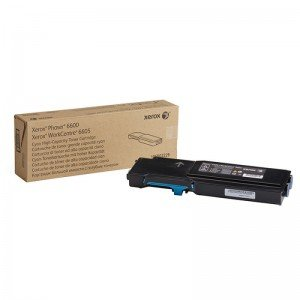 Xerox High Yield Cyan Toner Cartridge (6,000 pages*)