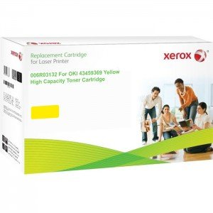 Oki 43459369 Yellow Toner Cartridge (2,500 Pages*)