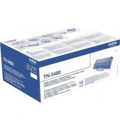 Brother TN3480 High Yield Black Toner Cartridge (8,000 pages*)