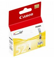 Canon CLI-521Y Yellow Ink Cartridge (446 pages*)