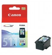 Canon CL-511 Colour Ink Cartridge (244 pages*) 2972B001