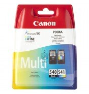 Canon 5225B006 PG-540 & CL-541 Standard Yield Ink Cartridge Pack (180 pages*)