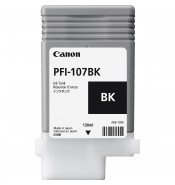 Canon PFI-107BK Black Ink Tank (130ml)
