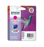 Epson C13T08034011 T0803 Magenta Ink Cartridge (7.4ml) C13T08034010
