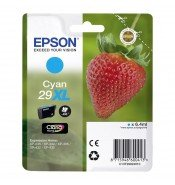 Epson 29XL T2992 High Yield Cyan Ink Cartridge (450 pages*)