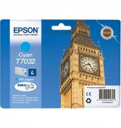 Epson C13T70324010 T7032 Standard Yield Cyan Ink Cartridge (800 pages*)