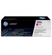HP CE413A 305A Magenta Toner Cartridge (2,600 pages*)