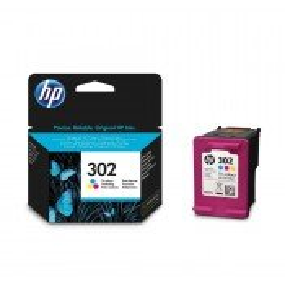 HP F6U65AE 302 Original Colour Ink Cartridge (165 pages*)