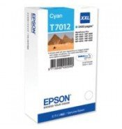 Epson T7012 Extra High Yield Cyan Ink Cartridge (3,400 pages*)