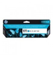 HP 971 Cyan Ink Cartridge (2,500 pages*)