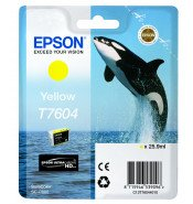 Epson T7604 Yellow Ink Cartridge (25.9ml)