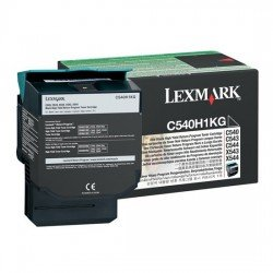 Lexmark High Yield Black Return Program Toner Cartridge (2,500 pages*)