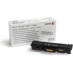 Xerox 106R02775 Black Toner Cartridge (1,500 pages*)