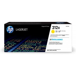 HP 212X Yellow High Yield Toner Cartridge (10,000 Pages*) W2122X