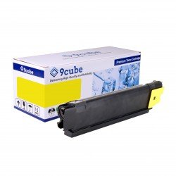 Compatible Kyocera TK-580Y Yellow Toner Cartridge (2,800 pages*)