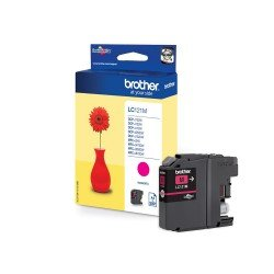 Brother LC121M Magenta Ink Cartridge (300 pages*)