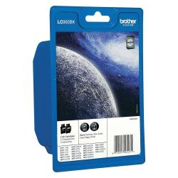 Brother LC900BK Black Ink Cartridge (500 pages*)