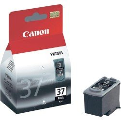 Canon PG-37 Black Ink Cartridge (11ml) 2145B001